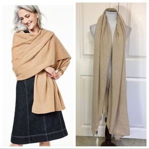 NWT! Charter Club Oversized Cashmere Scarf